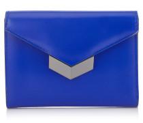 Leonie Portemonnaie aus kobaltblauem Spazzolato-Leder