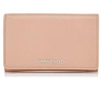 Marlie Brieftasche aus rosanem genarbtem Ziegenleder
