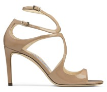 Ivette Sandaletten aus Lackleder in Ballettrosa