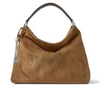 Callie Hobo/l Handtasche aus braunem Wildleder