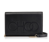 Sonia Mini-Tasche aus schwarzem Nappaleder
