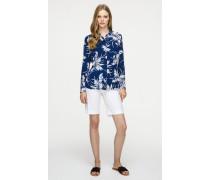 Bermuda-Shorts aus Baumwollstretch