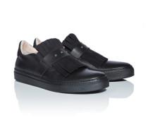 Leder-Loafer mit Zierquasten