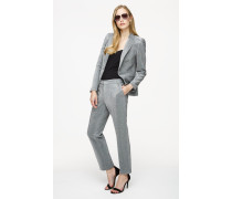 Jersey-Blazer in Metallic-Optik