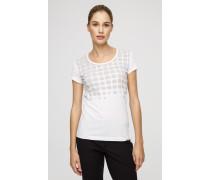 T-Shirt mit Print aus Baumwolle