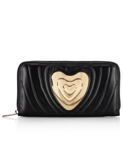 Heart Geldbörse aus Leder