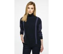 Pullover aus Wolle-Kaschmir-Mix im Panel-Design