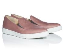 Leder-Sneakers im Slipper-Design
