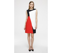 Kleid im Colour-Blocking-Design