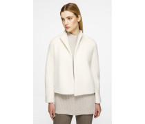 Jacke aus Alpaka und Wolle
