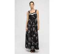 Maxi-Kleid mit Print