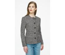 Jacke aus Wolle in Tweed-Qualität