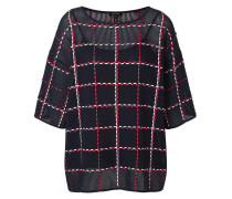 Embroidered Check Top