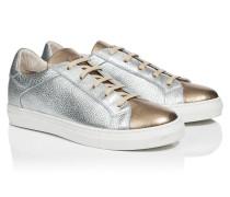 Low-Top-Sneaker aus Leder