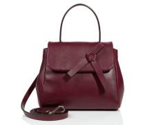 Handtasche aus texturiertem Leder