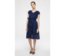 Kleid aus Baumwolle-Voile mit Print