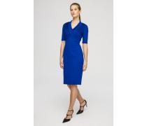 Plissé-Kleid in Jersey-Qualität