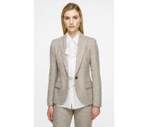 Blazer aus Woll-Tweed