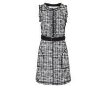 Belted Tweed Dress