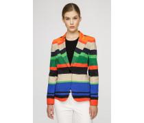 Blazer im Multicolor-Streifendessin