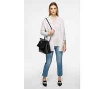 Knöchellange Slim-Fit-Jeans mit geradem Bein