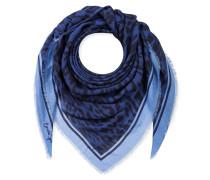 Schal aus Kaschmir-Modal-Mix mit Print