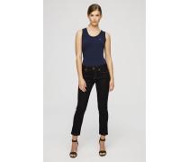 Knöchellange Slim-Fit-Jeans