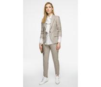 Wollhose in Tweed-Qualität