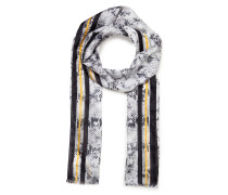 Seiden-Schal mit Print