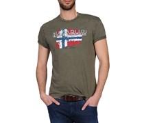 Kurzärmliges T-Shirt OFFICIAL STORE NAPAPIJRI