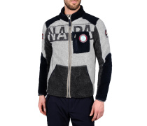 Zip-Jacke aus Fleece OFFICIAL STORE NAPAPIJRI