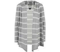 Cashmere Blend Sweaters Jacke Heather Grey