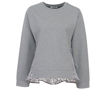 Desire For Contrast Pullover Sporty Grey