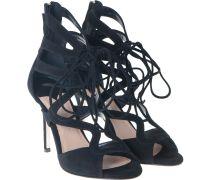 High Heel Sandalette Schwarz