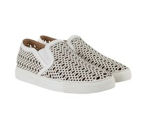 Slip-On Sneaker Mit Cut-out Muster Off White