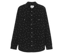 Denim Shirt 'Stars All Over' Schwarz
