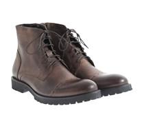Leder Boots Taupe