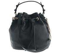 Kleine Bucket Bag Schwarz