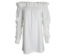 Off-Shoulder-Dress Creme