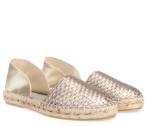 Vegane Cut-out Espadrilles Taupe