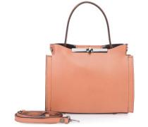 Mini Handtasche Leder Braun