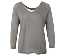 Back To Front Sweater Moon Mist