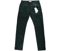 Clifton Slim Brushed Chino Deep Forest