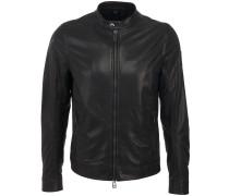 Gransden Leather Blouson Black