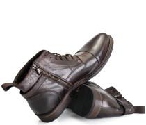 Boots Kalbsleder Dunkelbraun