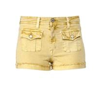Shorts Gelb
