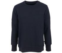 Sweater 'Zig' Baumwolle Schwarz