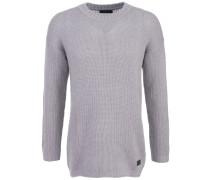 Wollsweater 'Boxy' Oversize Grau