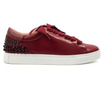 Sneaker mit Nieten & Perlen Rojo