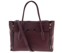 Handtasche Weinrot
